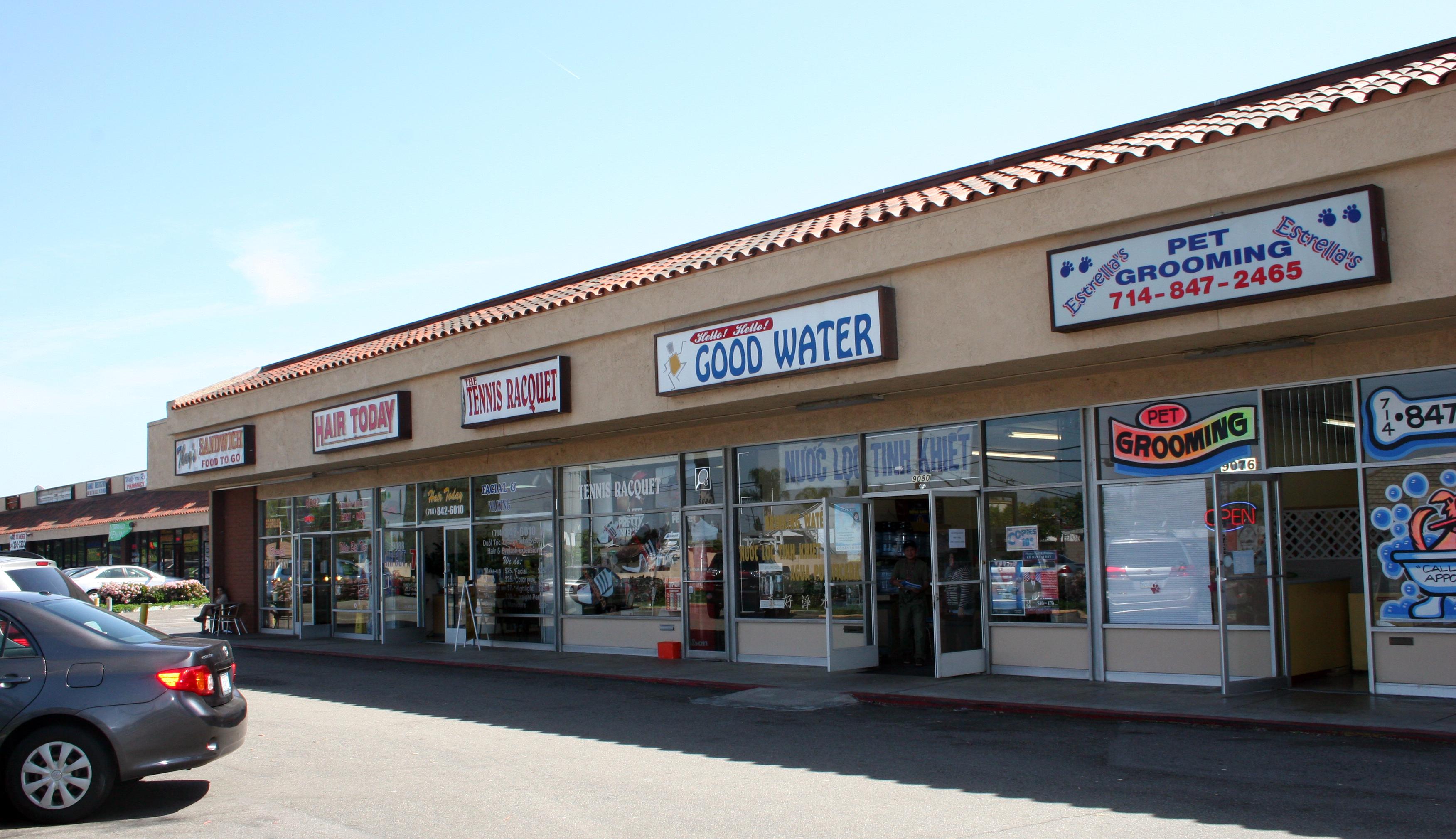 Edinger Plaza shops